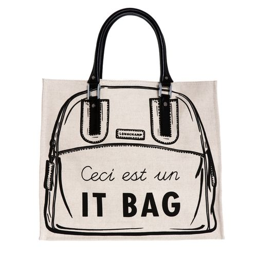 This bag is by Longchamp
