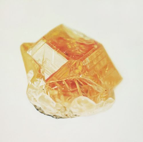 Hessonite, asbestos
