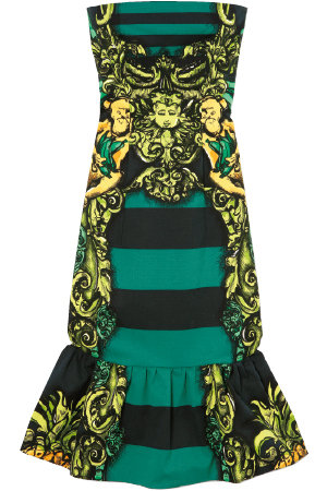 Prada-spring-2011-rtw-strapless-striped-dress-profile